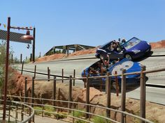 Radiator Springs Racers was the first stop for most fans eager to experience Disney's latest thrill ride.