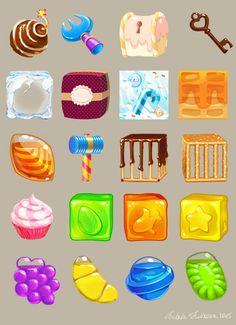 Save The Jelly Pet! ...@NasaHOy采集到食物icon(115图)_花瓣UI/UX