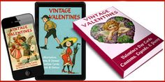 Whether you love Valentine's Day or not, there's a Kindle book for you! Sweet Vintage Valentine Cards & Cute Poems for Children: amzn.com/B00SIJ4TRA Funny & Alternative Valentine Cards & Classic Poetry: amzn.com/B00TCOM68E Romantic Valentine's Day Customs, Quotes, Legends: http://a.co/1iKSuN6 You can read them anywhere with Amazon's free apps: https://www.amazon.com/kindle-dbs/fd/kcp