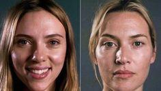 Scarlett Johanson y Kate Winslet, sin maquillaje en Vanity Fair