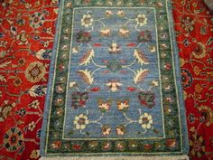 #13: Small rug from Afghanistan. 2 x 3.