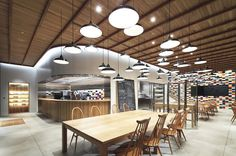industrial modern restaurant design - Google Search