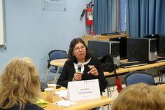 Presentación de la Mesa 4 – Alumna Elvira Brindis Castañeda. Seminario: Visiones sobre mediación tecnológica en educación, Sesión 6 - 12 de agosto de 2013.