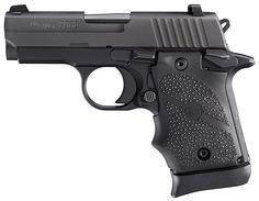 "Sig Sauer 938-9-BRG-AMBI P938 Black Rubber Grip 7+1 9mm 3"" $732.00 SHIPS FREE"