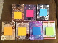 Got this idea off Pinterest:) but did my own touches!- DIY post it note holders for inexpensive Christmas gifts!:)