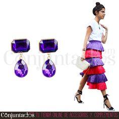 Pendientes Altea con lágrima morada ★ 9'95 € en https://www.conjuntados.com/es/pendientes-altea-con-lagrima-morada.html ★ #novedades #pendientes #earrings #conjuntados #conjuntada #joyitas #lowcost #jewelry #bisutería #bijoux #accesorios #complementos #moda #eventos #bodas #invitadaperfecta #perfectguest #party #fashion #fashionadicct #streetstyle #casualstreet #picoftheday #outfit #estilo #style #GustosParaTodas #ParaTodosLosGustos