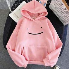 Kawaii Hoodie, Cute Hoodie, Hoodie Sweatshirts, Anime Jacket, Kawaii Clothes, Pink, Ideias Fashion, Street Wear, Layering