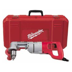 "Milwaukee 3107-6, 1/2"" D-Handle Right Angle Drill Kit https://cf-t.com/milwaukee-3107-6-12-d-handle-right-angle-drill-kit"