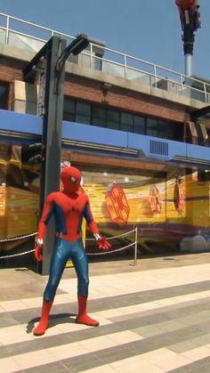 SPIDERMAN AT DISNEY Disney Planning, Disney Vacations, Spiderman, Leather Pants, Fashion, Master's Degree, Spider Man, Leather Jogger Pants, Moda