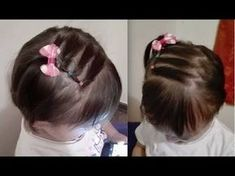 Majority of these hairdos are fairly simple and are good for beginners, fast and simple toddler hair styles. Easy Toddler Hairstyles, Flower Girl Hairstyles, Little Girl Hairstyles, Weave Hairstyles, Cute Hairstyles, Hairstyle Ideas, Infant Hairstyles, Ladies Hairstyles, Style Hairstyle