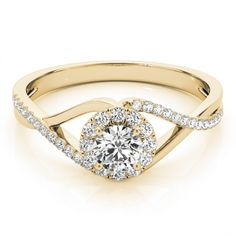 STYLE# 84828 - Round - Halo - Engagement Rings