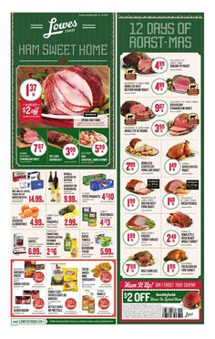 Lowes Weekly Ad December 14 - 24, 2016 - http://www.olcatalog.com/grocery/lowes-weekly-ad-circular.html