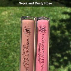 """Anastasia Beverly Hills en Instagram: """"Sepia & Dusty Rose #liquidlips launching in July on my website and @macys online also in all Impulse doors exclusively #anastasiabeverlyhills"""" Anastasia Beverly Hills Sepia, Circle Lenses, Colored Contacts, Beauty Trends, Dusty Rose, Eye Candy, Product Launch, Make Up, Lipstick"""