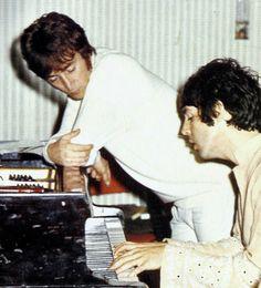 Paul McCartney and John Lennon (a magical moment)