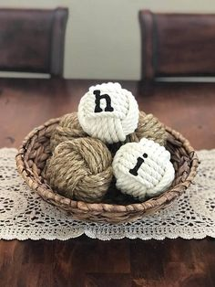 Decorative Rope Balls Decorative Rope Knot Balls Set Of 4 Bowlhighplainsknotwork