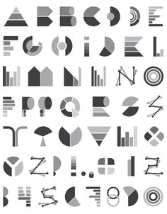 Handmade fonts by HandMadeFont , via Behance