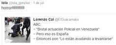 De TWITTER: ¿Venezuela o España?