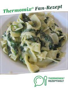 Penne mit Spinat-Gorgonzola-Sauce von Nadweb11. Ein Thermomix ® Rezept aus der Kategorie sonstige Hauptgerichte auf www.rezeptwelt.de, der Thermomix ® Community.