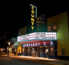 """The Historic County Theater opened in 1938.Looking back movies have been in Doylestown a long time. It all began in 1907 when Hellyer's Movie House opened on South Main Street in the back of what is now County Linen. In 1909 Hellyer's moved across the street to Lenape Hall where it operated until 1925 when the Strand Theatre, Doylestown's first """"real"""" movie theater, was built. Then in 1938 the Strand was replaced by the """"state-of-the-art"""" County Theater, which rose up in its place. The…"""