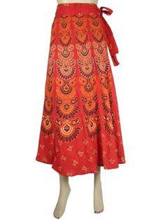 Wrap Around Skirt, Cotton Skirt Mod Retro Red Barmari Print Wrap Skirts and Dress Mogul Interior,http://www.amazon.com/dp/B00CERLTKW/ref=cm_sw_r_pi_dp_NHaCrb74B73C468D