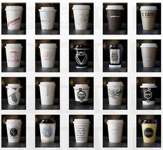Traveling the World in Search of the Most Unique Disposable Coffee Cup Designs (Photos)