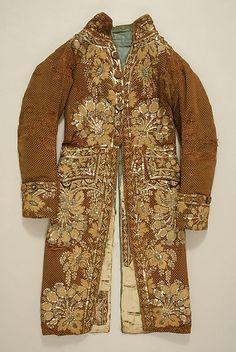 Coat  Date:     1810–30 Culture:     French Medium:     silk