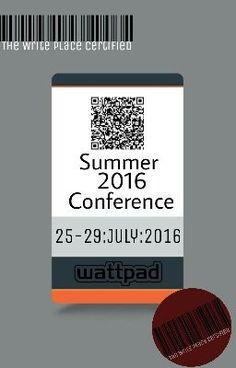 Summer 2016 Conference  (on Wattpad) http://my.w.tt/UiNb/ADpCeGUi2u #nonfiction #Non-Fiction #amreading #books #wattpad