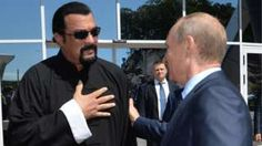 Image copyright                  AFP/Getty                  Image caption                                      Seagal (L) and Mr Putin are friends                                US actor Steven Seagal has been given Russian citizenship, the Kremlin says. President Putin signed a decree to make the award to the martial arts expert, who starred in Hollywood action
