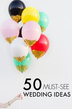 50 New Wedding Ideas from Pinterest!