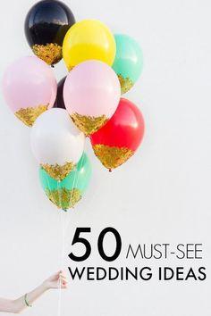 50 New Wedding Ideas from Pinterest!