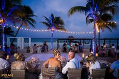 Azul Fives Wedding - Danielle and Deni Beach ceremony