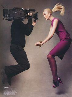 Patrick Demarchelier / The September Issue / 2009 / Documentary / Vogue / Anna Wintour / 2007 Fall issue Patrick Demarchelier, Grace Coddington, Fashion Foto, Vogue Fashion, Mens Fashion, Paris Fashion, Trendy Fashion, Anna Wintour, Top Models