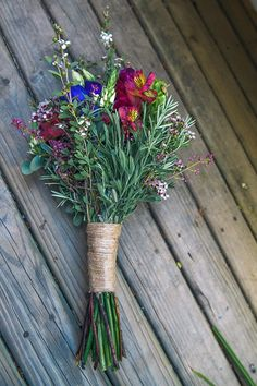 Wildflower Bouquet | onefabday.com