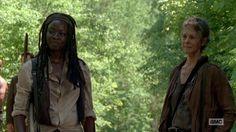"Michonne and Carol The Walking Dead Season 5x01 ""No Sanctuary"""