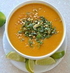 Butternut squash soup - YUM!!!