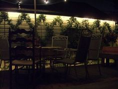 excellent idea for restaurant patio