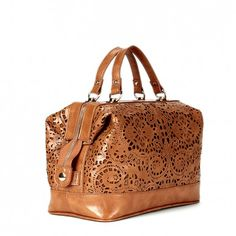 Sole Society - LASER CUT SATCHELs - Camille-Luggage