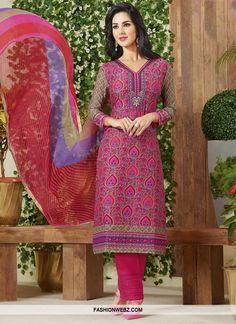 89ec09fa0c Extraordinary Beige and Rose Pink Pant Style Pakistani Salwar Kameez  Designer Salwar Suits, Salwar Suits