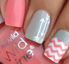 Pretty pastille nails