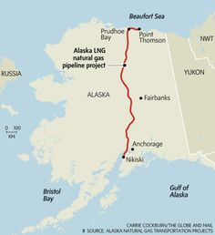 Alaska LNG natural pipeline project - The Globe and Mail
