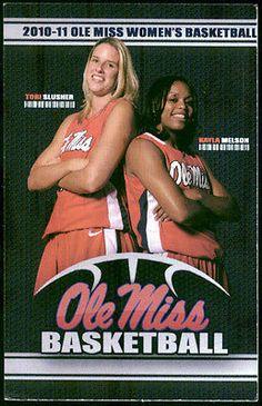 2010 11 Mississippi Lady Rebels Ole Miss Basketball Pocket Schedule Free SHIP   eBay