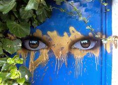 Street art by Banksy - London 3d Street Art, Street Art Utopia, Best Street Art, Amazing Street Art, Street Art Graffiti, Street Artists, Amazing Art, Graffiti 3d, Banksy