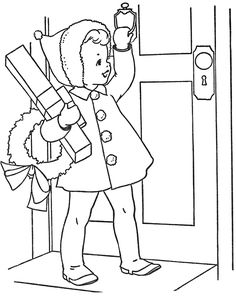 20 little girl coloring pages