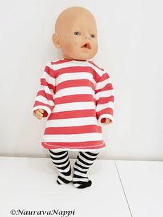 Baby born-nuken vaatteita ja pari kaavaa sekä vinkkejä lisäkaavoihin