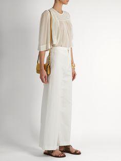 Mara embroidered silk blouse  | Isabel Marant | MATCHESFASHION.COM UK