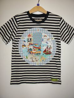 Child's Nautical Portal Window TShirt Age 5-6 Years by wonderbugs, $16.00