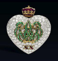 Dos broches de la duquesa de Windsor, Wallis Simpson.