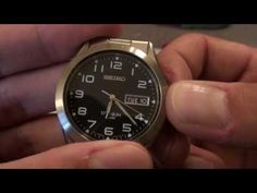 Unboxing my Seiko full titanium watch. has a quartz movement, luminous hands/markers, and a great overall look. Steve King, Titanium Watches, Seiko, Watches For Men, Quartz, Men's Watches