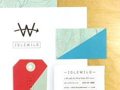 Huisstijl voor 'Idlewild', Andrew Colin Beck