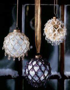 Christmas craft from beads photos1
